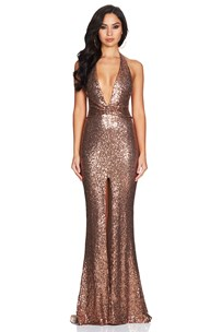 buy the latest Cher Halter Gown  online
