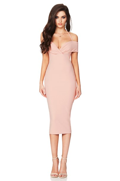 buy the latest Athena Off Shoulder Midi online