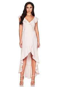 buy the latest Bonita Frill Wrap Dress  online