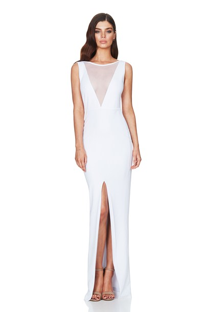 White Sin City Gown : Buy on Sale Now