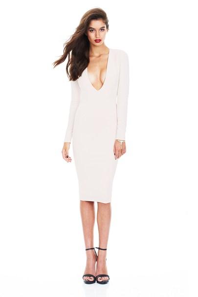 Buy v neck dress