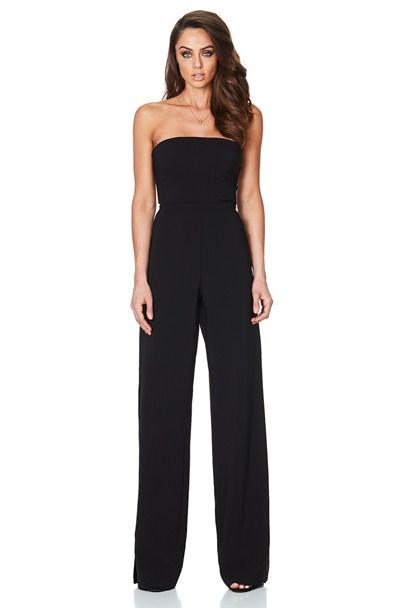 0b1466a05e4a Black Glamour Jumpsuit   Buy Designer Dresses Online at Nookie