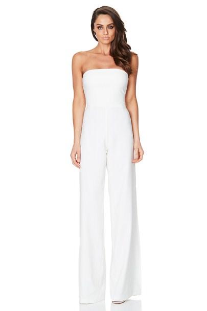 0c7b817b0993 Ivory Glamour Jumpsuit   Buy Designer Dresses Online at Nookie