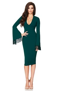 buy the latest Iris Long Sleeve Midi  online