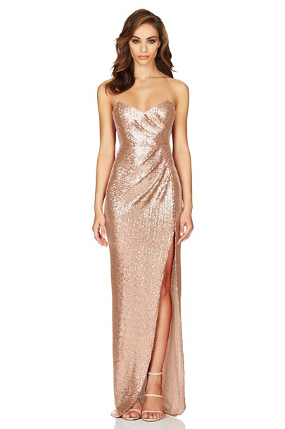 buy the latest Adele Sequin Gown  online