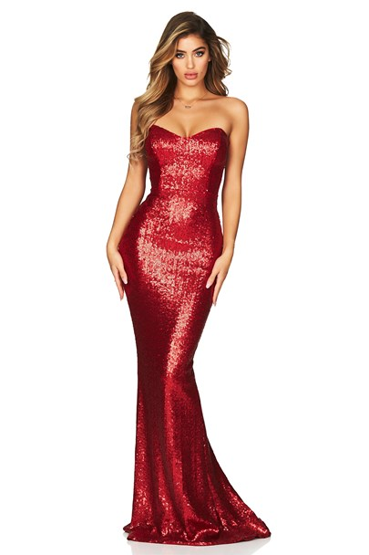 buy the latest Spellbound Strapless Gown  online