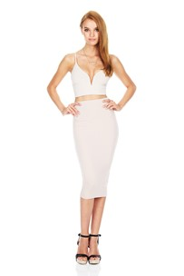 Nude Dolce Vita V Front Crop : Buy on Sale Now