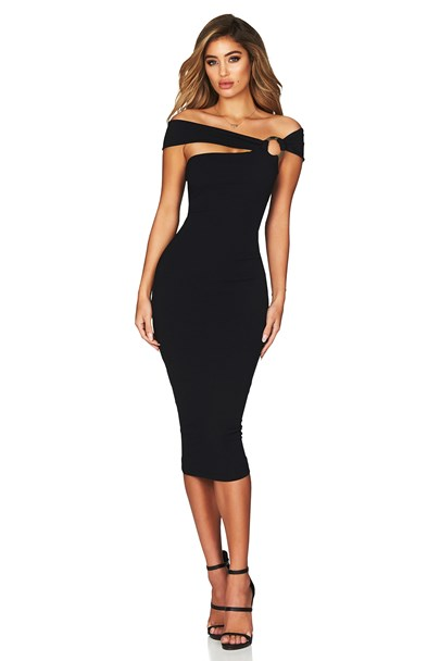 buy the latest Alchemy Off Shoulder Midi online