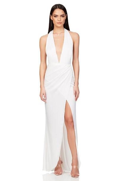 buy the latest Stella Satin Plunge Gown online