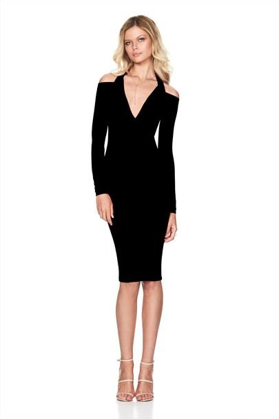 buy the latest Girl Talk Cowl Dress  online