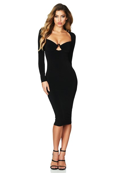 buy the latest Flirt Long Sleeve Midi  online