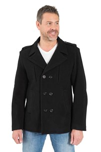 buy the latest Fitted Military Pea Coat online
