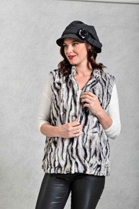 buy the latest Faux Fur Vest online