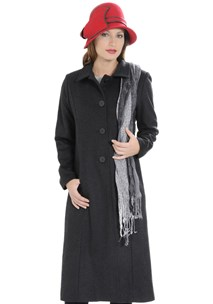 buy the latest 7/8 Fitted Coat With 2 Way Collar Vent At Back.  Fully Lined online
