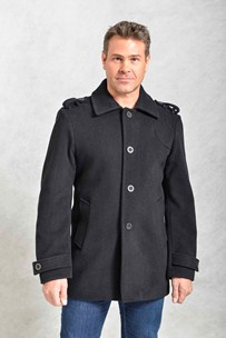 buy the latest Sb Mens Fashion Jacket With Epaulets And Tabs On Sleeves online