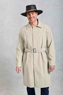 buy the latest Downingmens Sb3/4 Belted Microfiber Coat online