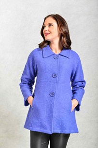 buy the latest 3/4 Length Boiled Wool Jacket online