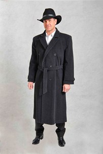 buy the latest Double Breasted Belted Overcoat online