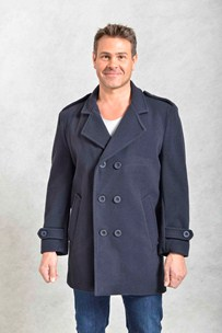 buy the latest 3/4 Db Military Pea Coat online