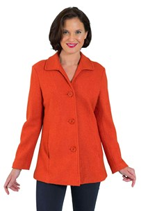 buy the latest Boiled Wool Lined Jacket online