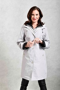 buy the latest 3/4 Microfiber Jacket With Detachable Hood And Zip Out Liner online