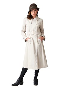 buy the latest Australian Made Long Belted Trench Coat online