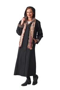 buy the latest Long Microfibre Raincoat Detachable Hood online
