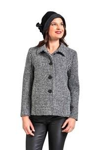 buy the latest Cropped Jacket Button To Neck online