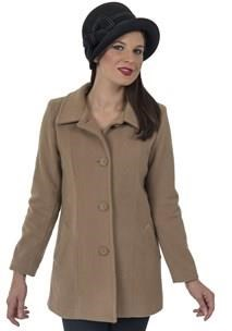 buy the latest Single Breasted Fitted Jacket 2 Way Collar online