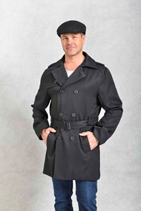 buy the latest 3/4 Belted Mens Trench  online