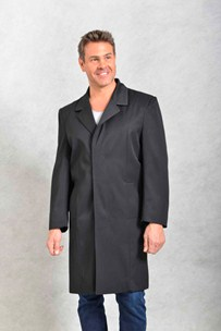 buy the latest 3/4 Raincoat Concealed Buttons Teflon Treated online