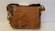 buy the latest Mens Leather Bag, Fits I Pad   Imported online