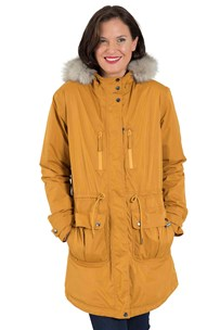 buy the latest Fully Seam Sealed Waterproof Parka, With Removable Faux Fur Trim, And Adjustable Waist online