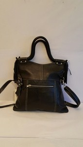 buy the latest Ladies Leather Bag With Frill On Handle.  Imported online
