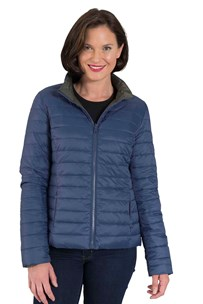 buy the latest Short Reversible Down Jacket With Concealed Hood Rrp $199 online