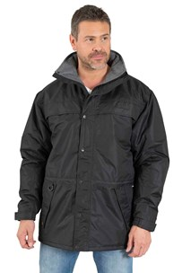 buy the latest Padded Casual Jacket Drawstring Concealed Hood, Waterproof online