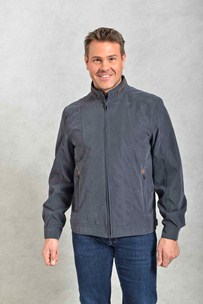 buy the latest Microfibre Zip Jacket Contrast Piping online