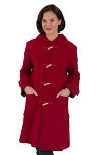 buy the latest 3/4 Length Traditional Duffle Coat With Wooden Toggles. Average Fit.  Fully Lined online