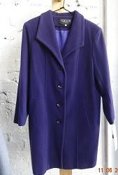 buy the latest 7/8 Jacket Square Collar Slight A-Line online