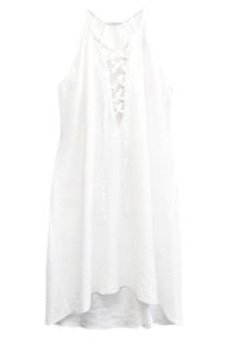 buy the latest Bisque Tie Dress  online
