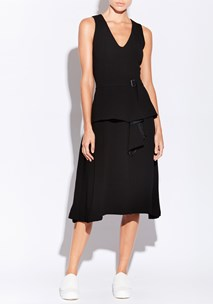 buy the latest Kati Dress With Draped Belt  online