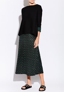 buy the latest Fishnet Midi Skirt  online