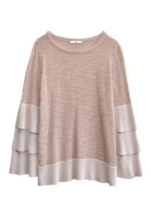 buy the latest Solar Frill Knit online