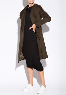 buy the latest Smoke Wrap Coat  online