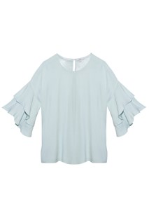 buy the latest Crane Frilled Top online