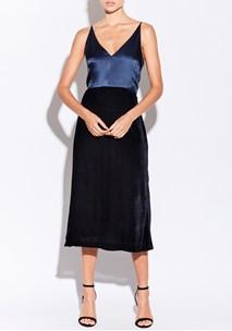 buy the latest Maze Double Layer Slip Dress  online