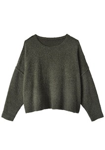 buy the latest Moss Cropped Knit online
