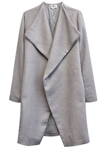 buy the latest Frame Draped Front Coat online