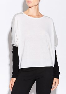 buy the latest Platinum Colourblocked Knit   online