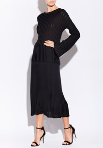 buy the latest Atrium Pleat Knit Skirt  online